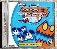 ChuChu Rocket (Sega Dreamcast, 2000) CIB **TESTED AND WORKING**