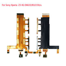 Power Volume Button Microphone Flex Cable for Sony Xperia Z3 4G D6633/83 L55t/u
