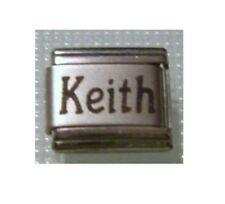 Italian Charms Charm  Names Name Keith