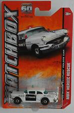 Matchbox - ´56 / 1956 Buick Century weiß/schwarz POLICE Neu/OVP US-Card