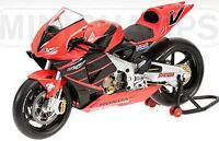 MINICHAMPS 122 017946 Honda RC211V  V Rossi die cast model Test Bike 2001 1:12th