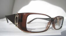 Chopard VCH 067 S 0851 Eyeglasses Glasses Brown Gold Authentic ITALY