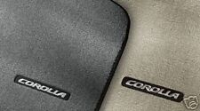 Toyota Corolla 2009-2011 Dark Charcoal Carpet Mats OEM NEW!