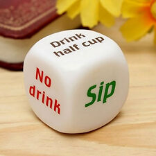 1Pc Funny Party Drinking Dice Decider Game Pub Toy Funny Adult Stag