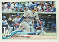 2018 Topps #281 ALEX VERDUGO RC Rookie Los Angeles Dodgers QTY AVAILABLE