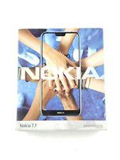 "Nokia 7.1 64GB Smart Cell Phone Blue (TA-1085) HDR 5.9"" FHD #15188"