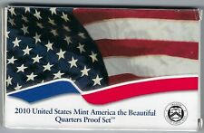 USA: America the Beautiful Quarters Proof Set 2010