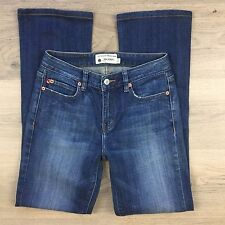 JAG High Street Boot Cut Whiskered Pockets Women's Jeans Size 8 W26 L28.5 (AE10)