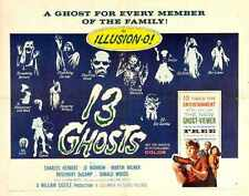 13 Ghosts Poster 03 A3 Box Canvas Print