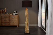 Lámpara de pie 175cm Moderno Hecho a mano madera de combustible Paño