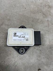 Opel Meriva B Sensore di Rotazione 13267138 Bosch 0265005748