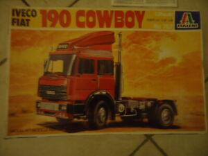 italeri ancienne maquette iveco fiat 190 cowboy n° 767 boite