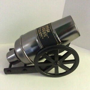 Pottery Barn Cannon Cocktail Shaker ~ Stainless Steel ~ Bar ~ New in Box