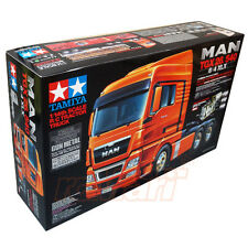 Tamiya 1:14 MAN Tractor Trucks TGX 26.540 6x4 Gun Metal EP RC Car On Road #56346