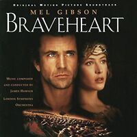 James Horner Braveheart (soundtrack, 1995) [CD]