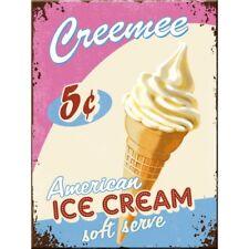 American Ice Cream Soft Serve Retro Kitchen Cafe 3D Quality Fridge Magnet