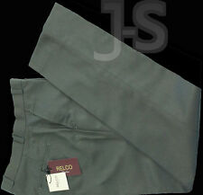 "GREEN,BLUE and BURGUNDY TONIC  STA PRESS TROUSERS by RELCO 28"" - 42"""