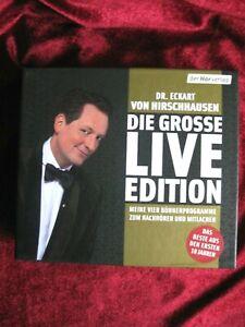 Dr. Eckart von Hirschausen: Die grosse LIVE  Edition 4 CD s  OVP