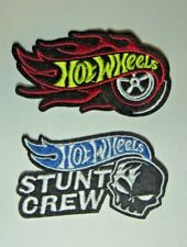 HOT WHEELS STUNT CREW Sewn/Iron Patch Set Of 2