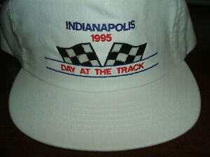 """Indianapolis 500 """"Day at the Track"""" Hat Indy 500, New 1995"""