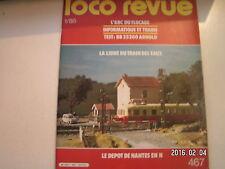 **c Loco revue n°467 Jouef production à deux niveaux / 4 - 141 TA