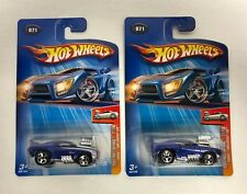 Tooned 1969 Camaro Z28 HOT WHEELS 2004 First Editions ERROR misplaced TAMPO