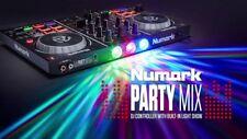 NUMARK PARTY MIX Midi Dj Controller Usb + Luci led + Virtual Dj NUOVO NEW