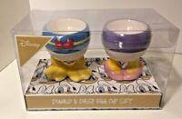 DISNEY DONALD DAISY Duck EIERBECHER 2er-Set Keramik ente Mickey maus wunderhaus