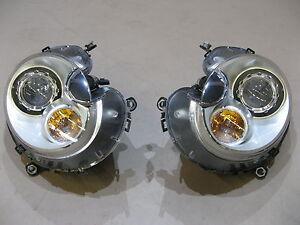 MINI R56 Frontscheinwerfer Scheinwerfer LHD Headlights Xenon