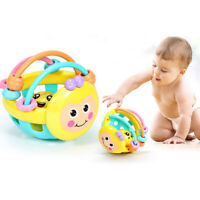 Baby Einstein Baby Bendy Sound Ball Rattle Activity Toy For Toddler Infant