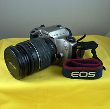 Canon EOS 3000N Film Camera with Canon Ultrasonic EF 28-200mm Zoom Lens 3.5-5.6