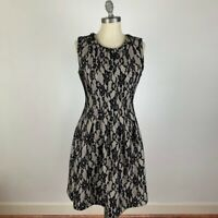 Anthropologie HD in Paris Black Lace Dress Size Small