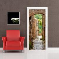 PT0204 Decorazione Adesiva bubble free per Porta arredo casa anta 100x210 cm