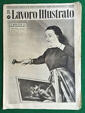 Rivista/Magazine IL LAVORO ILLUSTRATO n. 22/1951 , Ed.Atlante