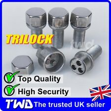 TRILOCK ALLOY WHEEL LOCKING BOLTS - SEAT M14x1.5 RADIUS SECURITY LUG NUTS [MA0t]
