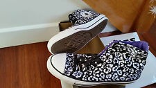 Women's CONVERSE Black canvas running shoes US 9/ 7 UK or 40 Europe NEW 25.5 CM