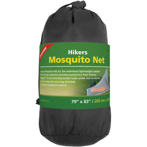 "Coghlan's Hikers Mosquito Net 79"" x 83"", Single Point Suspension System, Camping"