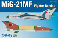 Eduard Plastic Kits: MiG-21MF Fighter-Bomber, Weekend Edition in 1:72