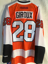 Reebok Premier Jersey Philadelphia Flyers Giroux Orange PRO SEWN sz 2X