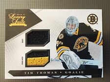 2010-11 Tim Thomas Luxury Suite Prime Jersey 106/150