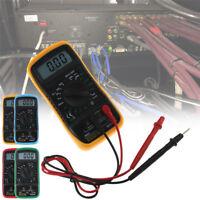 Digital LCD Multimeter Voltmeter Ammeter OHM Tester Meter Thermometer AC/DC