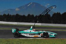 Kazuki Nakajima SIGNED Team Tom's Toyota RV8K , Formula Nippon  Fuji Japan 2012