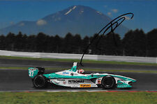 Kazuki Nakajima signé Team Tom's TOYOTA RV8K, formule Nippon FUJI JAPON 2012