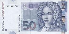 Croazia/Croatia 50 Kuna 2002 PICK 40 (1)