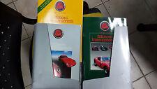EDIZIONI INTERNAZIONALI kit 3 pz. inclusi in cartella Libreria dell'automobile