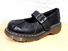 New DR. Martens EU 41 US 9 Black Leather Mary Jane Shoes