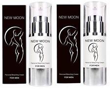 2 X NEW MOON NATURAL PERSONAL SKIN BLEACHING CREAM FOR MEN LIGHTENS LIGHTENING