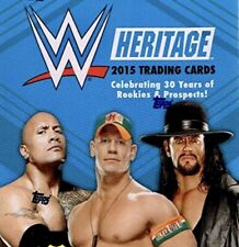 2015 Topps WWE Heritage Base, Rc's, Black - You Pick