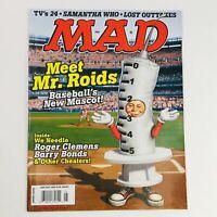 Mad Magazine May 2008 No. 489 Meet Mr. Roids Very Fine VF 8.0
