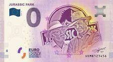 Billet Touristique 0 Euro - Jurassic Park - 2019-13